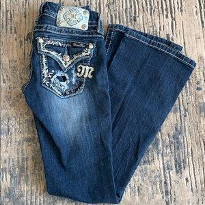 MISS ME size 24 bootcut women's/juniors  jeans